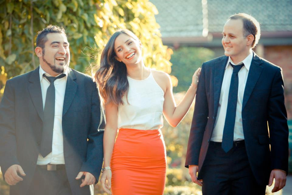 wedding band trio at rosely court essendon